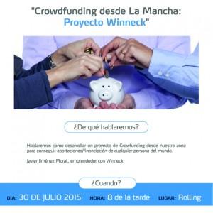 cartel encuentro mensual manchacentroinnova julio 2015