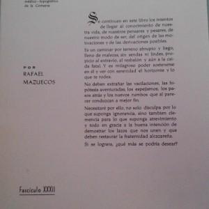 Libros Don Rafael Mazuecos sobre Alcázar1
